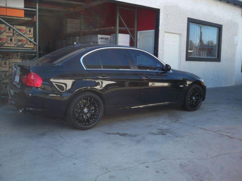 19 MRR GT7 BLACK RIMS WHEELS BMW 325 328 330 Z3 Z4 CADILLAC CTS CAMARO