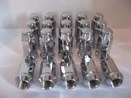 Dodge RAM 1500 Truck WHEEL RIM CHROME LUG NUTS 2002 10