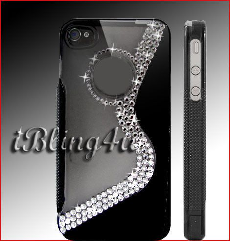 iphone 4 4s made with 100% AUTHENTIC SWAROVSKI CRYSTAL ELEMENTS